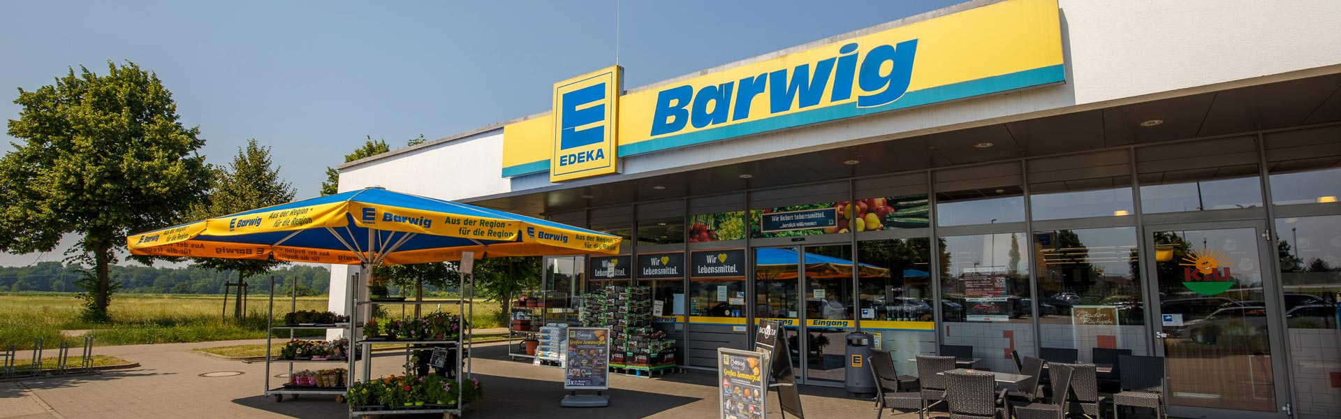 EDEKA Barwig in March-Buchheim